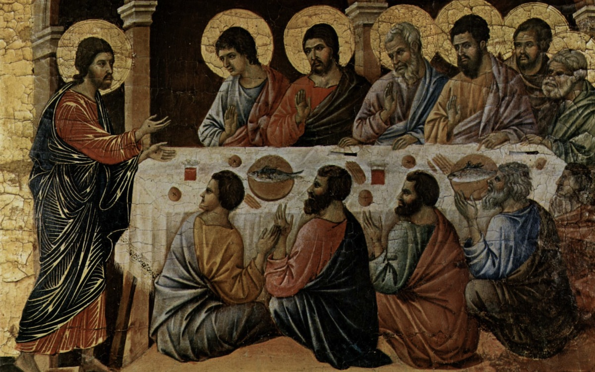 Last Supper Duccio di Buoninsegna